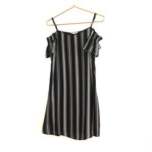 Candies black and white dress